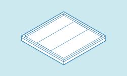 Option toiture plate avec dalle béton
